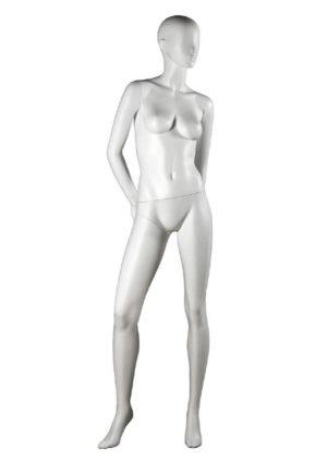 vente mannequin femme mains derrière le dos Paris