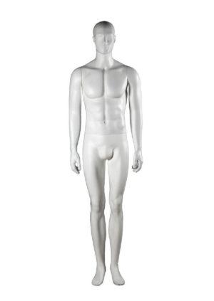 mannequin homme debout avec tête abstraite Paris