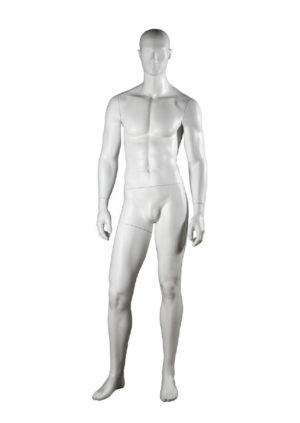 location mannequin homme musclé déhanché blanc mat Marseille