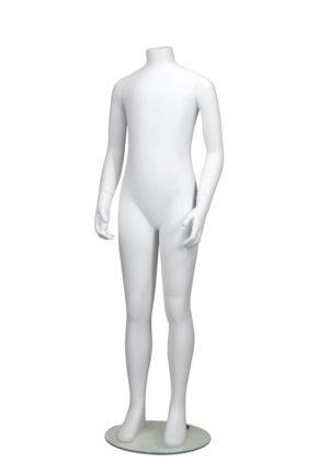 vente mannequin enfant sans tête blanc mat pour collection 10 ans Paris