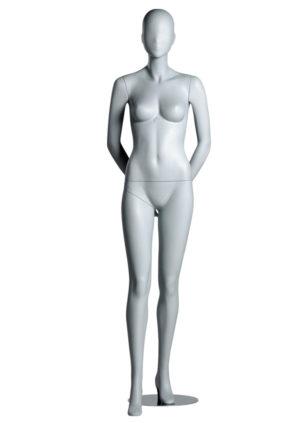 location mannequin femme en fibre de verre blanc mat Toulon