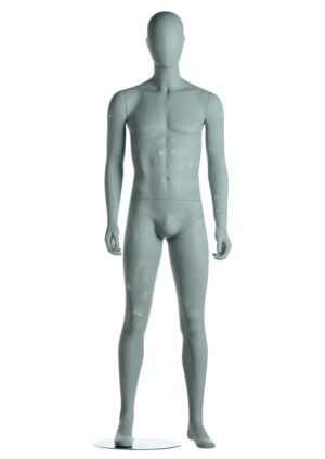 Vente de mannequin pour vitrine masculin musclé tête abstraite Paris
