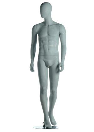 location mannequin homme tête stylisée pour merchandising Paris