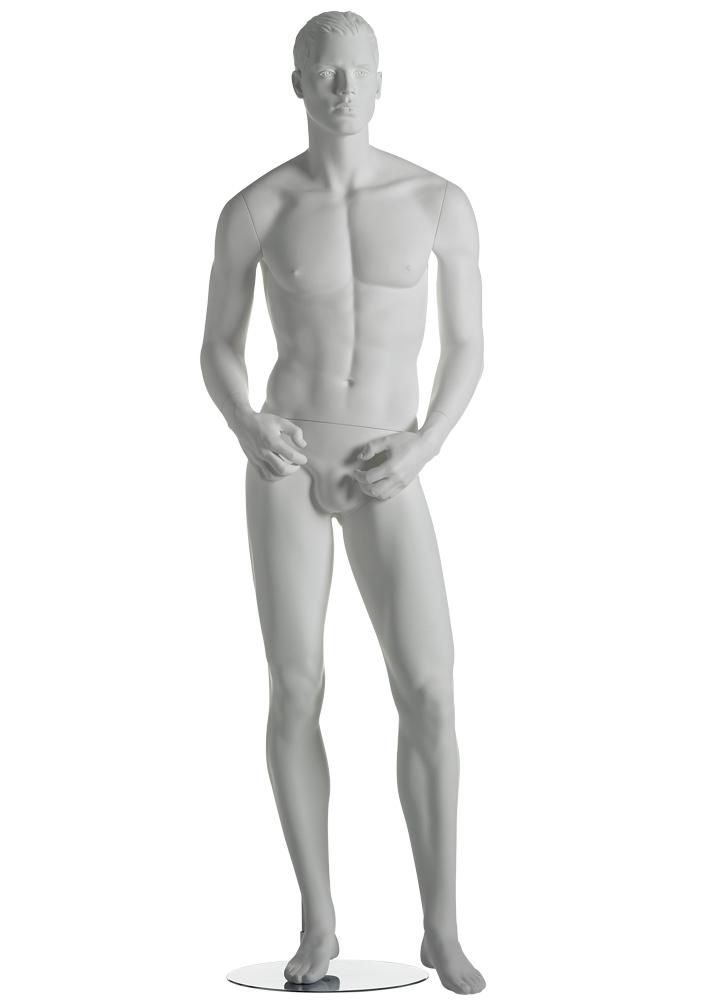 vente mannequin hommemusclé pour vitrine fibre de verre blanc Marseille