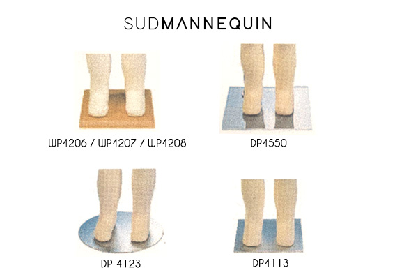 base carrée bois pour mannequin enfant paris