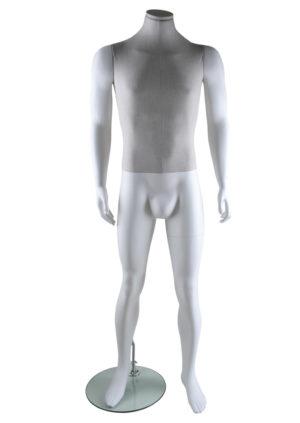 location mannequin homme avec buste en Lin Marseille