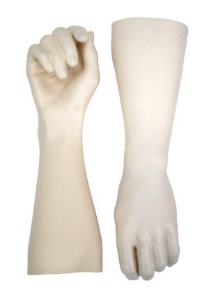 mains pvc homme pour accessoires cannes