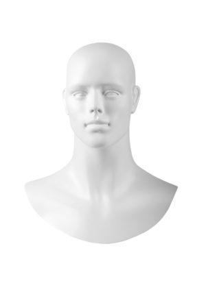location tête pour mannequin homme avec visage dessiné Marseille
