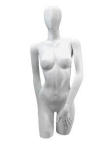 buste femme avec tête abstraite marseille