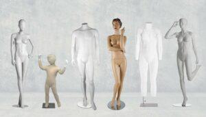 les différents types de mannequins de couture